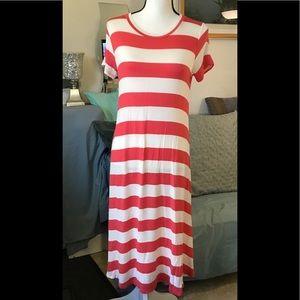 Flamingo maxi dress. Size M